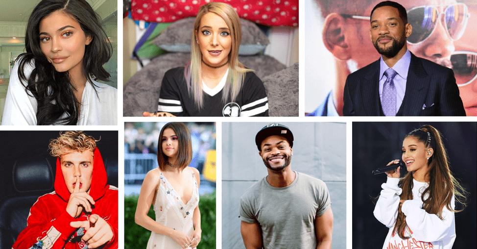 Kiến thức về Celebrity, Macro-Influencer và Micro-Influencer